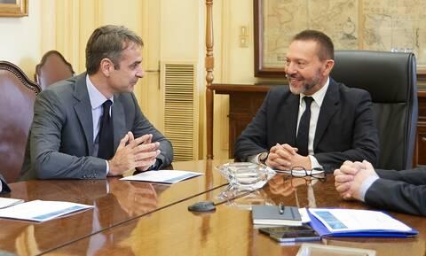 Στουρνάρας: Ιδιαίτερη τιμή, η πρόταση Μητσοτάκη για ανανέωση της θητείας στην Τράπεζα της Ελλάδος