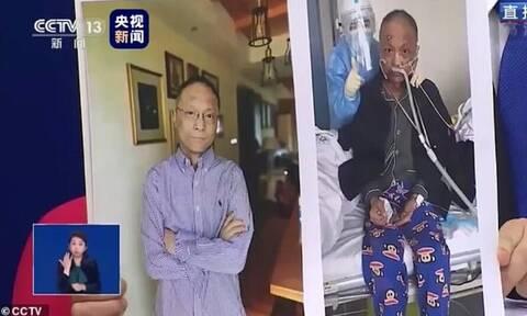 Κίνα: Αποκτά ξανά το χρώμα του ο γιατρός που έγινε «μαύρος» λόγω κορονοϊού (pics)