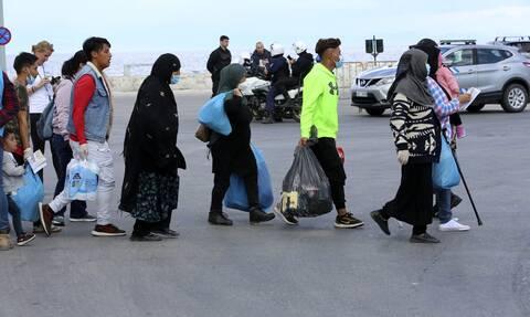 Κορονοϊός: Δύο κρούσματα σε μετανάστες που έφτασαν στη Μυτιλήνη