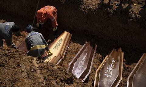 Κορονοϊός: Νέο θλιβερό ρεκόρ στη Βραζιλία με 881 νεκρούς σε 24 ώρες