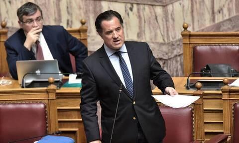Χαμός στη Βουλή: Κόντρα Γεωργιάδη - Καφαντάρη για την επιστρεπτέα προκαταβολή