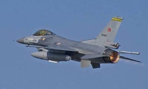Νέες προκλήσεις από τους Τούρκους: Τουρκικά F-16 πέταξαν πάνω από το Φαρμακονήσι