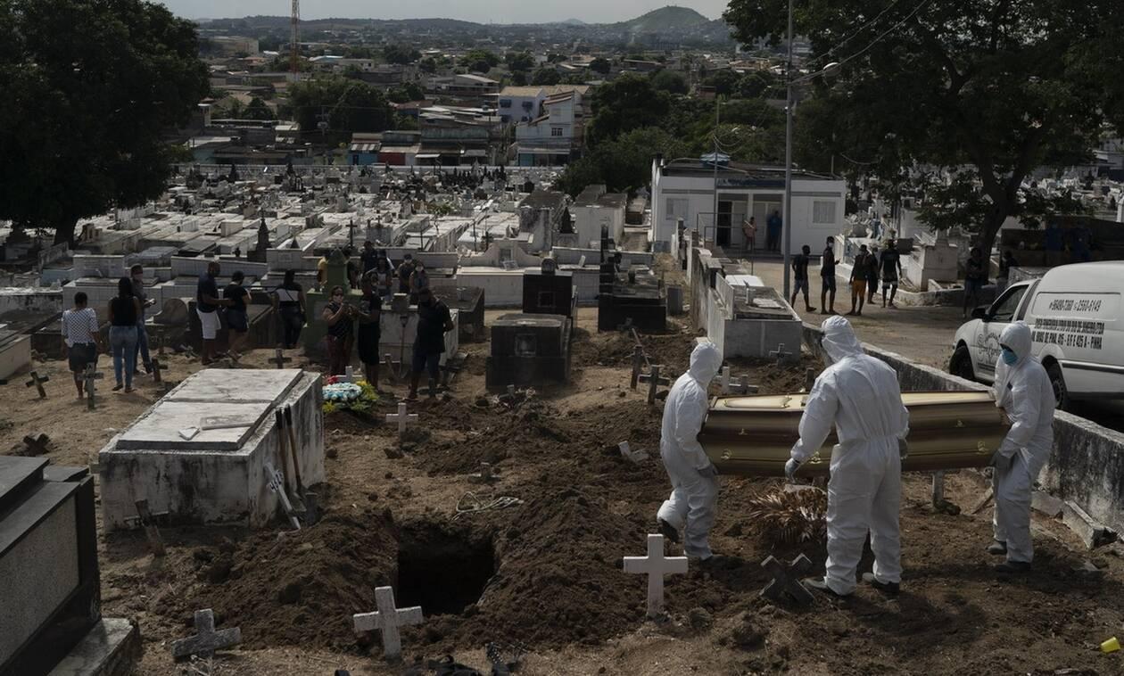 Κορονοϊός στη Βραζιλία: 749 θάνατοι και νέα 11.385 κρούσματα μόλυνσης σε 24 ώρες