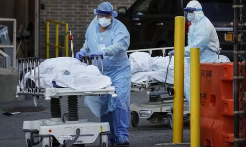 Κορονοϊός στις ΗΠΑ: Πάνω από 1.800 νεκροί σε 24 ώρες εξαιτίας της πανδημίας