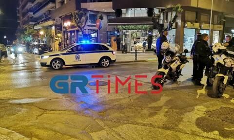 Take away ποτά με συνωστισμό στην Θεσσαλονίκη – Παρενέβη η αστυνομία