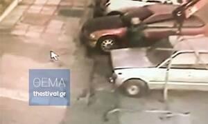 Θεσσαλονίκη: Βίντεο ντοκουμέντο - Δημοτικός υπάλληλος κλέβει αυτοκίνητα!