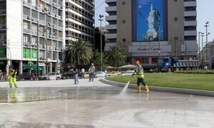 Πλατεία Ομονοίας: Αποκαλυπτήρια σήμερα - Φωταγωγείται το συντριβάνι