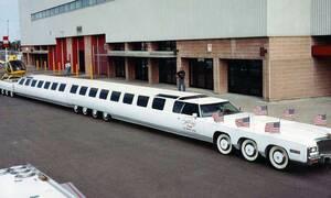 Το πιο μακρύ αυτοκίνητο του κόσμου, με μήκος όσο μια 10όροφη πολυκατοικία, θα γίνει πάλι ατραξιόν