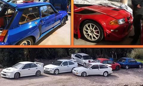 Κλέφτης με γνώσεις έφτιαξε μια συλλογή από σπάνια κλασικά αυτοκίνητα επιδόσεων