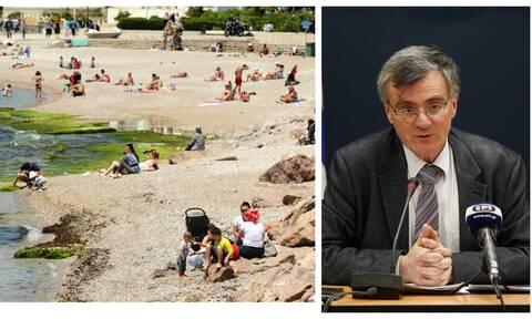 Κορονοϊός: Ο ήλιος και η ζέστη μπορούν να σκοτώσουν τον ιό; - Τι απαντά ο Σωτήρης Τσιόδρας