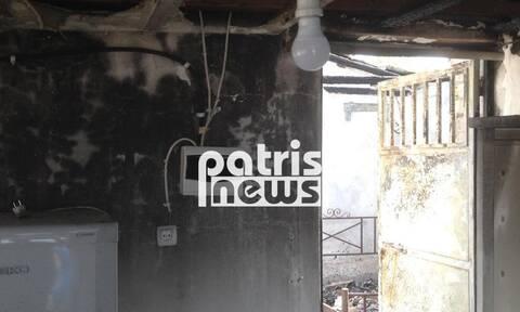 Πύργος: Νεκρός ηλικιωμένος στο φλεγόμενο σπίτι του - Εικόνες-σοκ