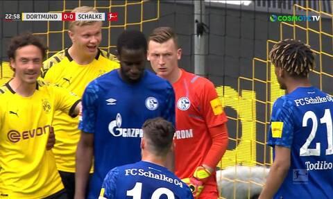Bundesliga: Τα… μπινελίκια μεταξύ Χάαλαντ και Τοντιμπό (video)