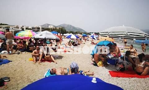Ρεπορτάζ Newsbomb.gr: Ούτε Ιούλιος να ήταν - «Βούλιαξαν» οι παραλίες, περίπατο... οι αποστάσεις
