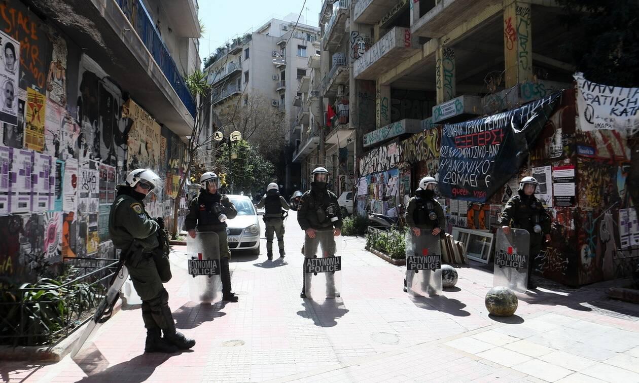 Αθήνα: Επιχείρηση της ΕΛ.ΑΣ στα Εξάρχεια