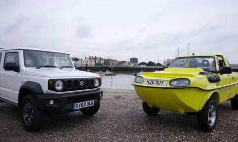Μπορεί ένα Suzuki Jimny να επιπλεύσει και να κινηθεί στο νερό;