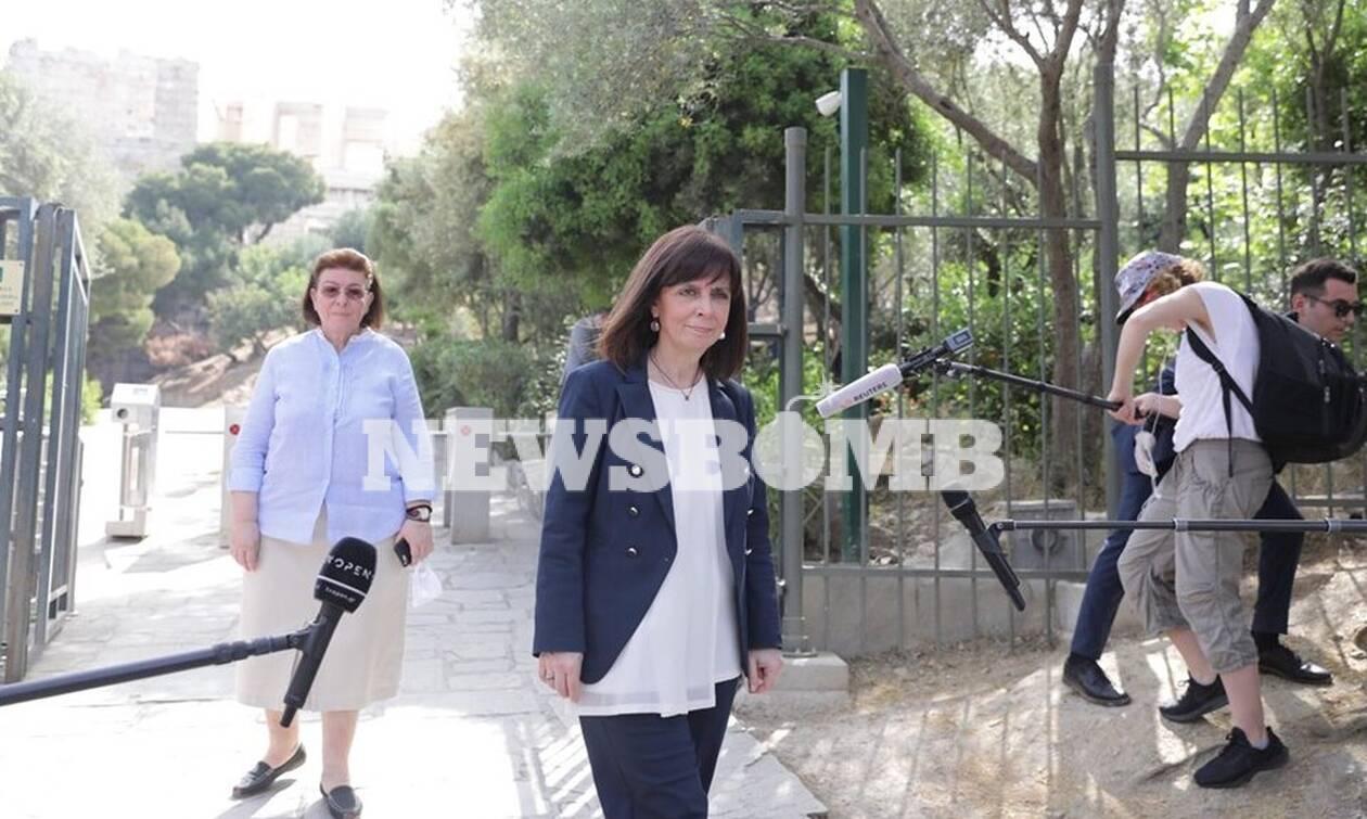 Άρση μέτρων: Παρουσία Σακελλαροπούλου άνοιξε η Ακρόπολη - Πρεμιέρα για 200 αρχαιολογικούς χώρους