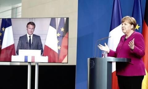 Κορονοϊός: Ευρωπαϊκό ταμείο ανάκαμψης ύψους 500 δισ. από Μέρκελ - Μακρόν