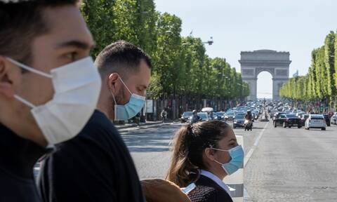 Κορονοϊός Γαλλία: 131 θάνατοι το τελευταίο 24ωρο - Μειώνεται διαρκώς ο αριθμός των ασθενών σε ΜΕΘ