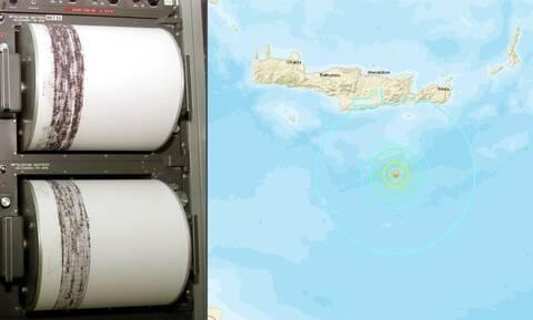 Σεισμός: Ισχυρή σεισμική δόνηση νότια της Κρήτης (pics)