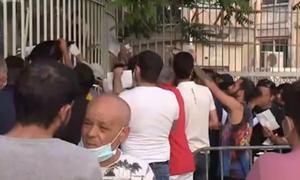 Άρση μέτρων: Το αδιαχώρητο για δεύτερη ημέρα έξω από την Υπηρεσία Ασύλου στην Κατεχάκη (vids)