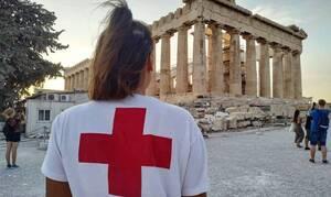 H Πρόεδρος της Δημοκρατίας και η υπουργός Πολιτισμού συγχαίρουν τον Ερυθρό Σταυρό για το έργο του