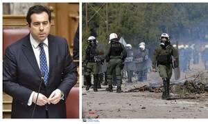 Η συγγνώμη Μηταράκη για τον «πόλεμο» ΜΑΤ-νησιωτών σε Χίο και Μυτιλήνη:Η κατάσταση ξέφυγε πολύ άσχημα