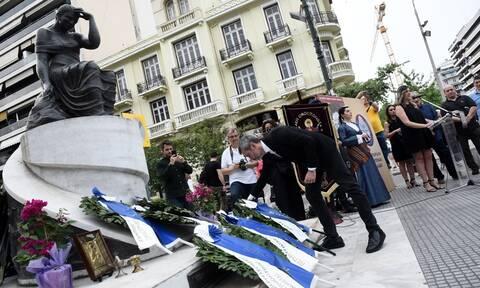 Θεσσαλονίκη: Συγκέντρωση μνήμης για τη γενοκτονία των Ποντίων στην πλατεία Αγίας Σοφίας