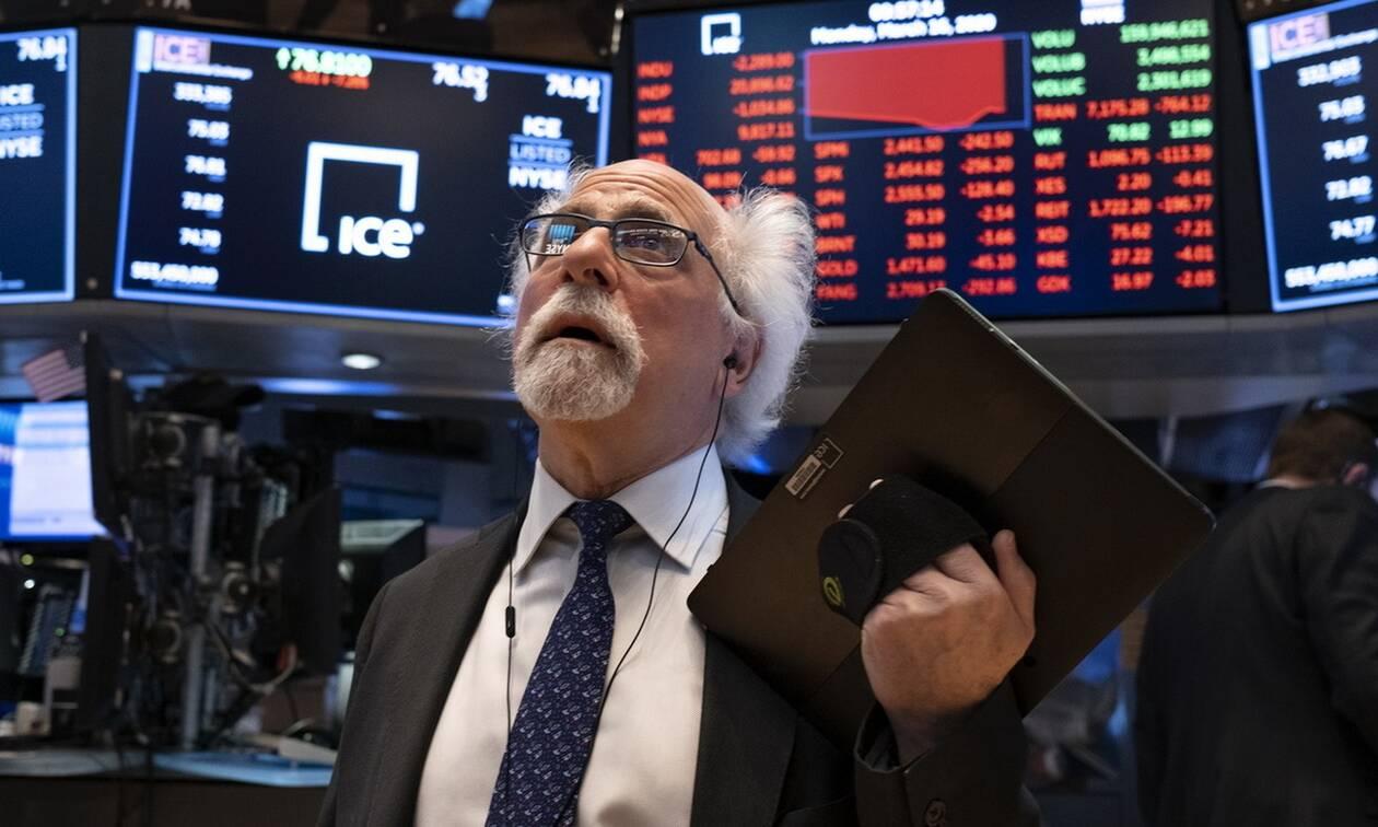 Κλείσιμο με πτώση στη Wall Street - Μικτές τιμές στο πετρέλαιο