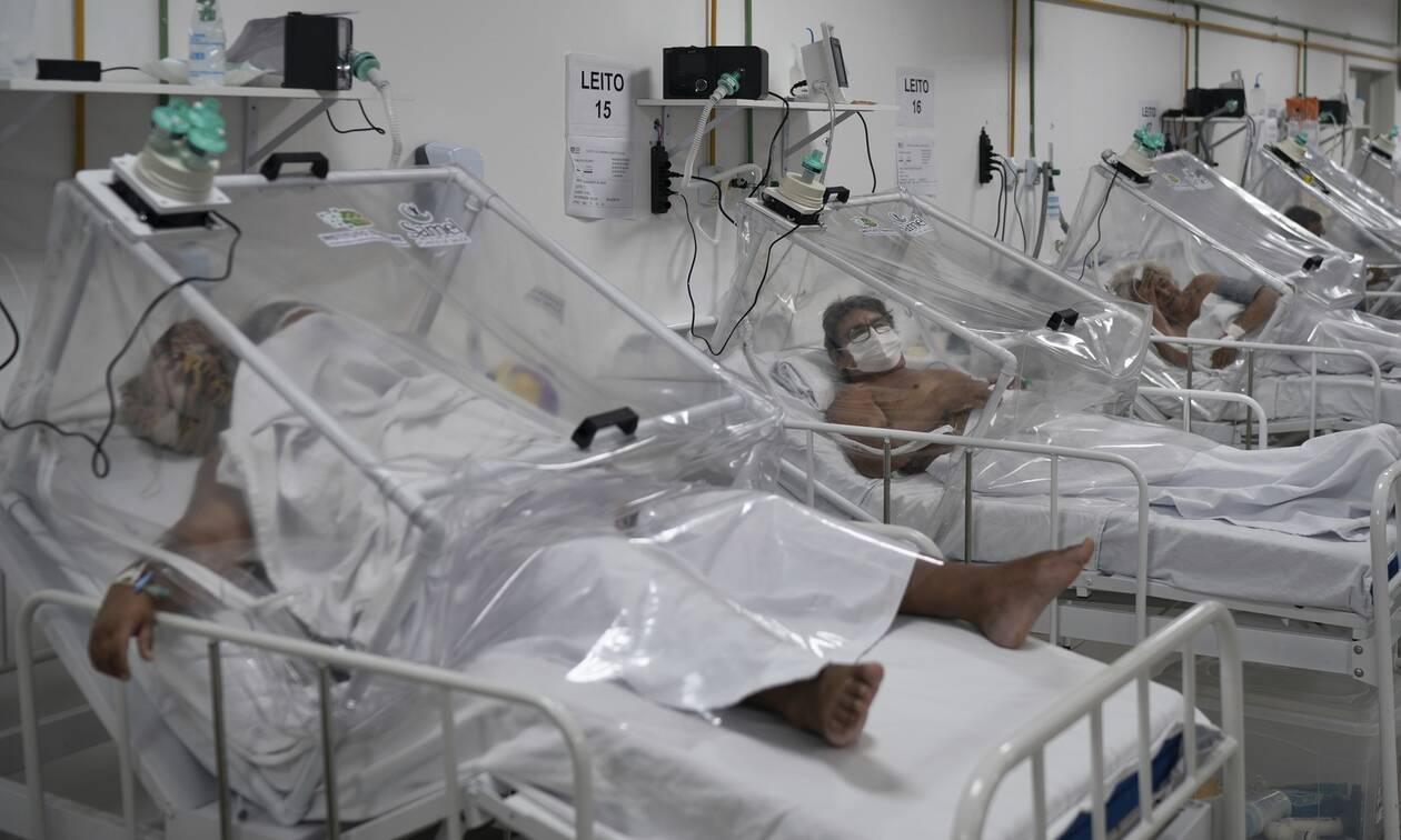 Κορονοϊός – Θρήνος στη Βραζιλία: Πάνω από 1.000 νεκροί σε ένα 24ωρο