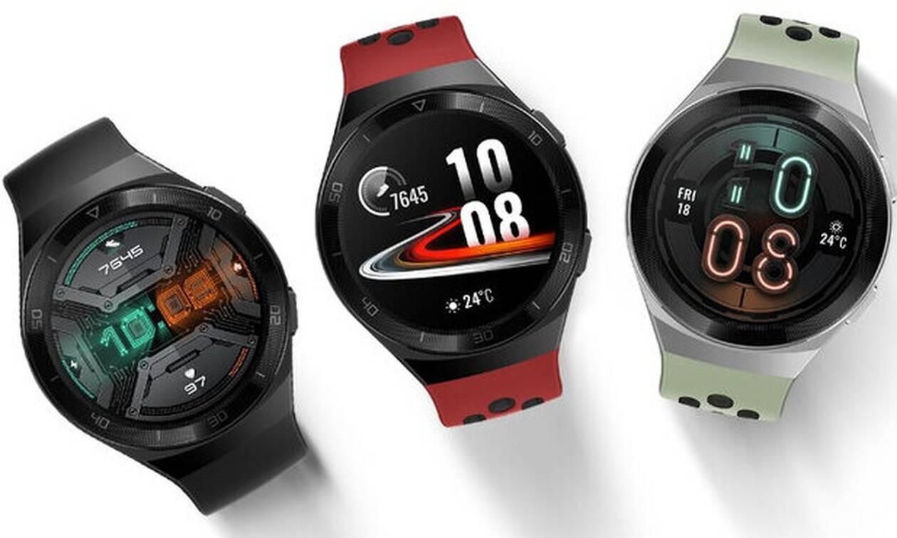 Νέο smartwatch Huawei Watch GT 2e: Με αναβαθμισμένες λειτουργίες και 100 προγράμματα άθλησης