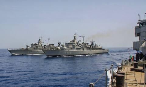 Πολεμικό Ναυτικό: Άνοιξε πυρ νοτίως της Κρήτης - Δυναμική απάντηση στις τουρκικές προκλήσεις