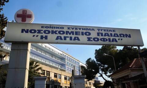 Βρέφος 8 μηνών νοσηλεύεται με κορονοϊό στη ΜΕΘ του νοσοκομείου Παίδων