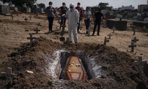Σαρώνει ο κορονοϊός τη Βραζιλία: 888 θάνατοι και σχεδόν 20.000 νέα κρούσματα μόλυνσης σε 24 ώρες