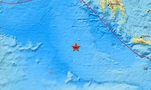 Σεισμός ΤΩΡΑ: Μεγάλη σεισμική δόνηση δυτικά της Κρήτης - Αισθητός σε πολλές περιοχές