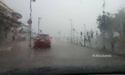 Κακοκαιρία: «Κατακλυσμός» στην Χαλκιδική - «Πνίγηκαν» στη βροχή Νέα Μουδανιά και Κασσάνδρα
