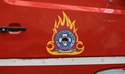 Φωτιά στο Σχιστό Κορυδαλλού - Συναγερμός στην Πυροσβεστική (vid)