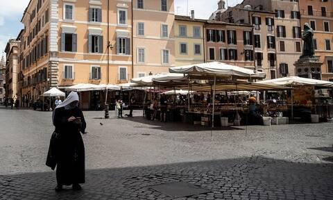 Κορονοϊός Ιταλία: 156 θάνατοι το τελευταίο 24ωρο - Λιγότεροι ασθενείς στις ΜΕΘ