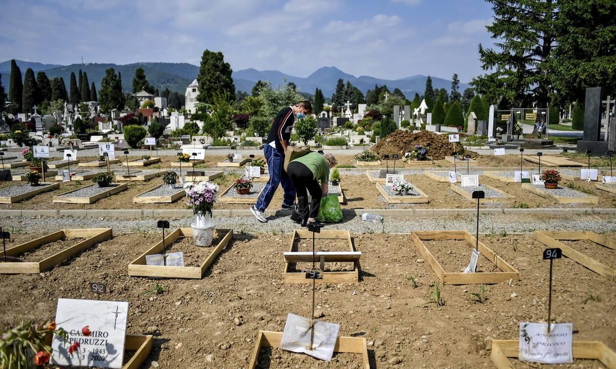 Κορονοϊός στην Ιταλία: Οι νεκροί μπορεί να είναι 20.000 περισσότεροι από την επίσημη καταγραφή