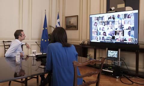 Μητσοτάκης: Απολύτως πετυχημένο το εγχείρημα της εκπαιδευτικής τηλεόρασης