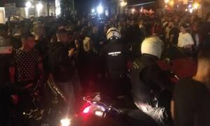 Θεσσαλονίκη: Ένταση και ξύλο σε πάρτι με take away ποτά - Επέμβαση της Αστυνομίας (pics&vid)