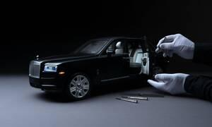 Πόσες ώρες χρειάζονται για να κατασκευαστεί αυτό το μοντέλο της Rolls Royce Cullinan