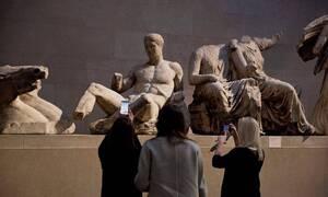 Μενδώνη προς βρετανικό μουσείο: «Επιστρέψτε τα γλυπτά του Παρθενώνα, είναι προϊόν κλοπής»