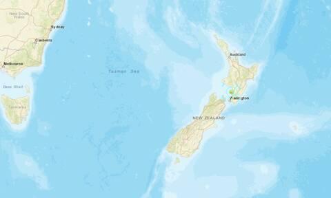 Ισχυρός σεισμός στη Νέα Ζηλανδία: Κοντά στην πρωτεύουσα Ουέλινγκτον το επίκεντρο