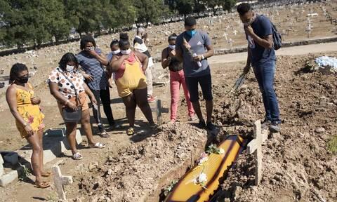 Ο κορονοϊός «θερίζει» τη Βραζιλία: 653 θάνατοι και 15.813 νέα κρούσματα μόλυνσης σε 24 ώρες