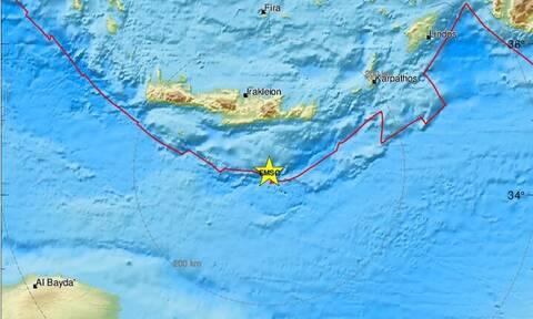 Σεισμός νότια της Κρήτης (pics)