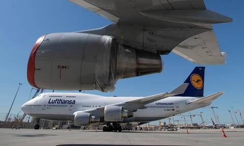 Γερμανία: Συμφώνησαν κράτος και Lufthansa για πακέτο στήριξης 9 δισεκατομμυρίων ευρώ