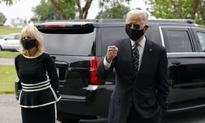 ΗΠΑ: Πρώτη δημόσια εμφάνιση του Τζο Μπάιντεν από τη 15η Μαρτίου