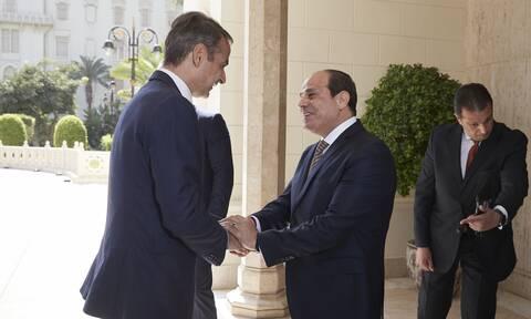 Τηλεφωνική επικοινωνία Μητσοτάκη-αλ Σίσι - Τι συζήτησαν οι δύο ηγέτες