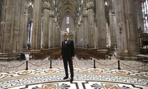 Κορονοϊός: Ο τενόρος Αντρέα Μποτσέλι είπε ότι είχε νοσήσει από τον Covid-19