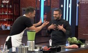 MasterChef: Έξαλλος ο Κουτσόπουλος με τον Μπέλλο που του άφησε τη... βρωμοδουλειά (video)